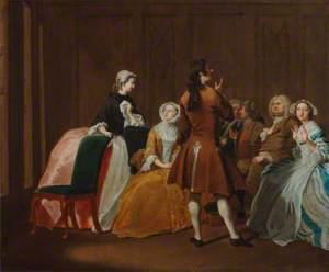 The Harlowe Family, from Samuel Richardson's 'Clarissa'