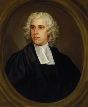The Reverend Dr John Lloyd, Curate of St Mildred's Church, Bread Street