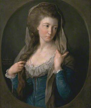 Portrait of a Woman, Traditionally identified as Margaret Stuart, Lady Hippisley