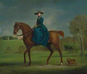 The Countess of Coningsby in the Costume of the Charlton Hunt