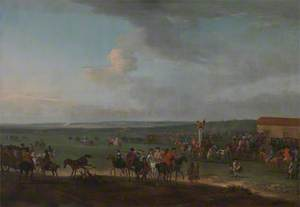 The Round Course at Newmarket, Cambridgeshire, Preparing for the King's Plate