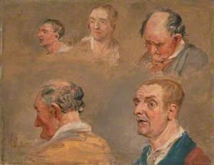 Studies of Jacky Turner and the Reverend Charles Hope's Gardener