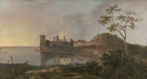 A Summer Evening (Caernarfon Castle)