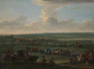 George I at Newmarket, 4 or 5 October 1717