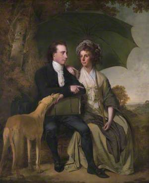 The Reverend and Mrs Thomas Gisborne, of Yoxhall Lodge, Leicestershire