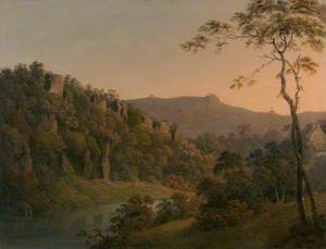 Matlock Dale, Looking toward Black Rock Escarpment