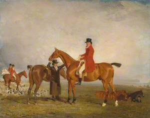 George, Marquess of Huntly (Later 5th Duke of Gordon), on Tiny