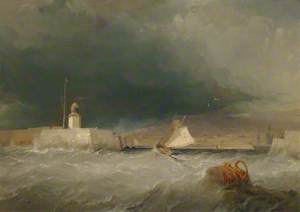 Port on a Stormy Day