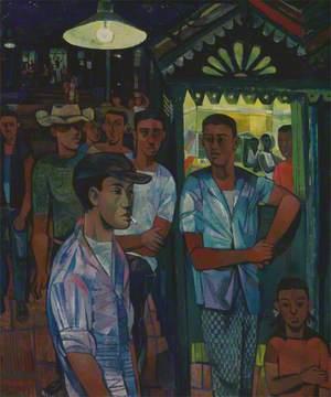 A Street Corner in Jamaica