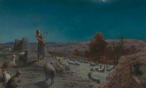 David, the Future King of Israel, while a Shepherd at Bethlehem