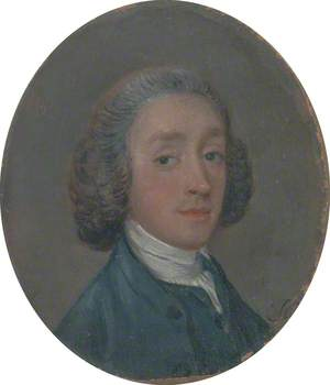 A Young Man with Powdered Hair
