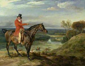 Theophilus Levett and a Favorite Hunter