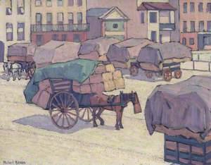Hay Carts, Cumberland Market