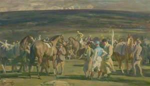 The Saddling Paddock, Cheltenham March Meeting