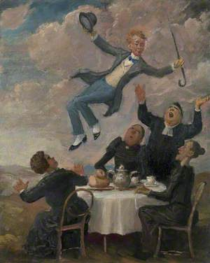 William Orpen Levitating