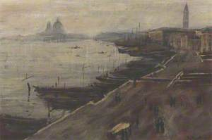 A View of the Laguna, Venice