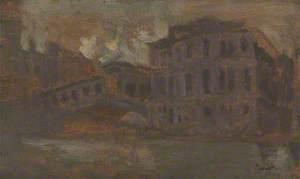 Venice, the Rialto Bridge and the Palazzo dei Camerlenghi
