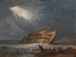 The Wreck of the Dutton, an East Indiaman
