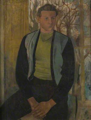 Portrait of a Young Man Seated