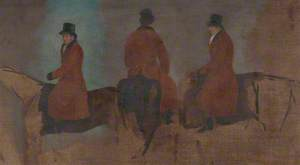 Studies of Riders in the Hunting Field