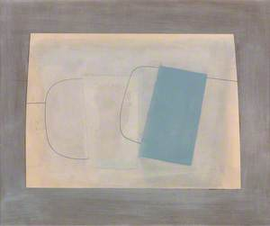 August 1963 (two mugs, one blue)