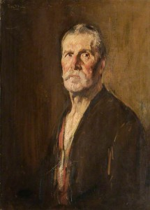 Study of Drummer James Roddick (1848–1928), 92nd Gordon Highlanders, in Old Age