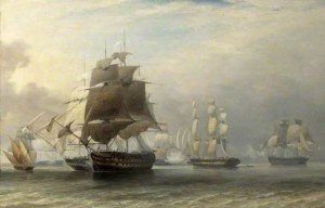 Admiral Charles Napier's action off Cape St Vincent, 5th July 1833
