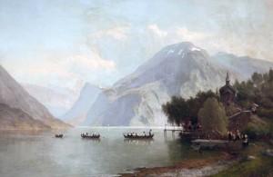 Alpline Landscape