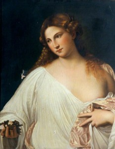 Flora (copy after Titian)