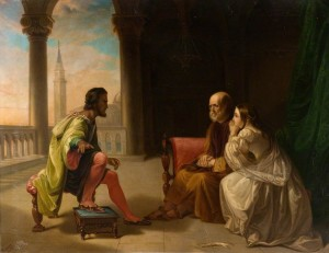 Othello Relating His Adventures (copy after Douglas Cowper)