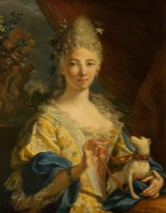 Portrait of an Italian Noblewoman (once thought to be Eva Maria Garrick)