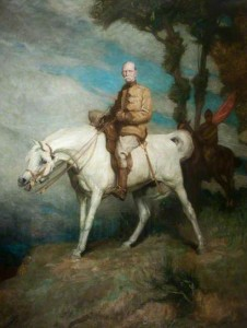 Field Marshal Frederick Sleigh Roberts, 1st Earl Roberts, VC, on 'Vonolel', c.1895