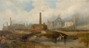 Industrial Scene (South Hetton Colliery, near Sunderland)