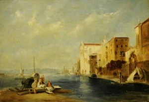 The Canal of the Giudecca, and the Church of the Gesuati, Venice