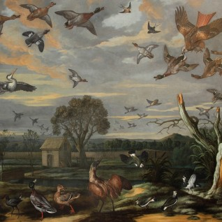 Landscape with Birds and a Duck Decoy