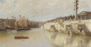 Reconstruction of the Ancient Port of Rome