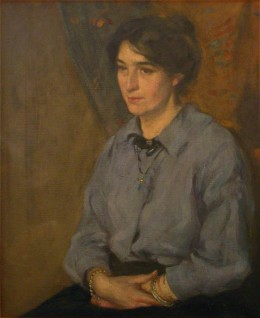 1913, oil on canvas by John Munnoch (1879–1915)