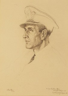 1941, graphite on paper by William Russell Flint (1880–1969)