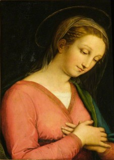 (formerly attributed to Innocenzo Francucci da Imola), oil on panel by Raphael (1483–1520) (probably)