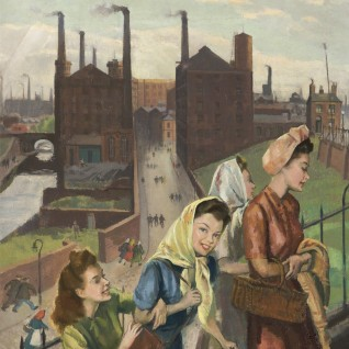 Mill Girls, Ashton, Lancashire