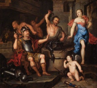 oil on canvas, attributed to Ary de Vois (1632/1635–1680)