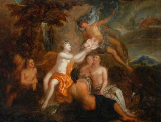 Mercury Delivering the Infant Bacchus into the Care of the Nymphs of Nyssa
