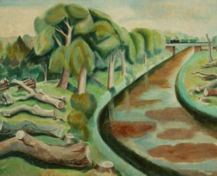 1951–1952, oil on canvas by Sylvia Melland (1906–1993)