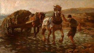 1914, oil on canvas by Edgar Downs (1876–1963)