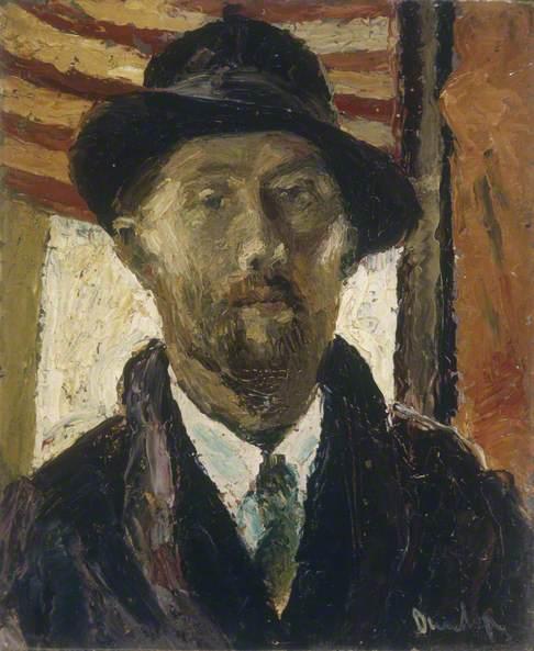 Portrait of a Man, Bust Length