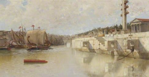 Classical Maritime Scene