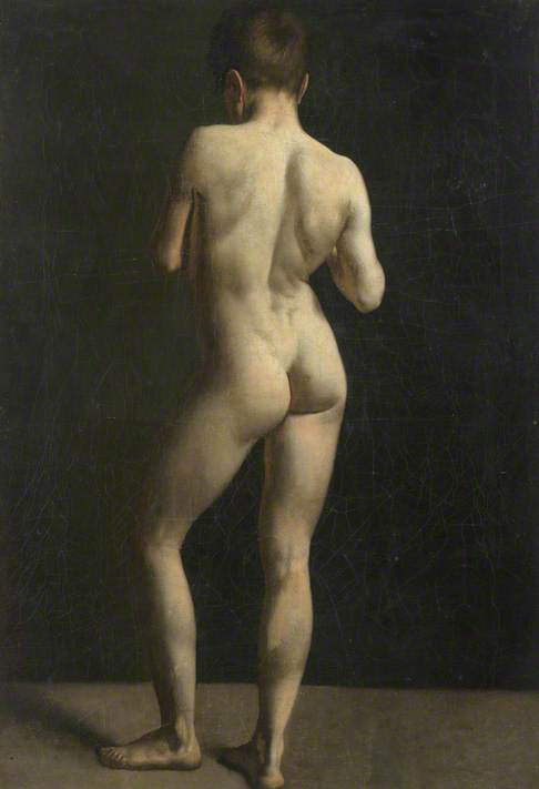 Male Nude, from Behind