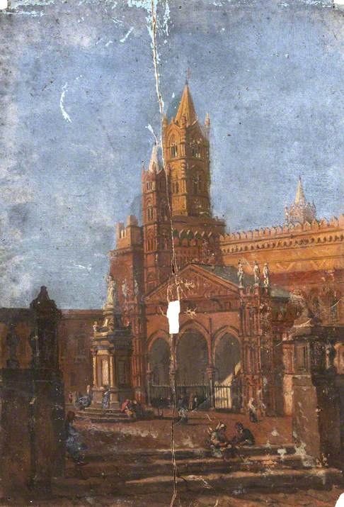 Architectural Study of a Piazza