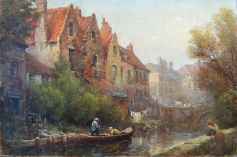 In a Flemish Town: Bruges