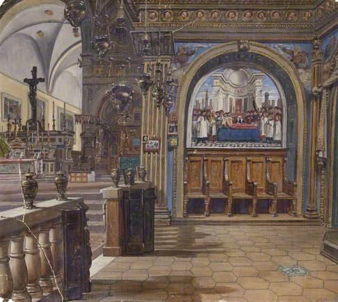 Church Interior: Florence